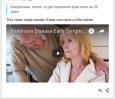 linking to video to show what article is discussing